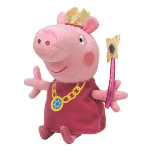 Peppa malac plüss figura - Peppa hercegnő - 15 cm