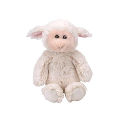 Rachel fehér bárány plüss figura - 15 cm