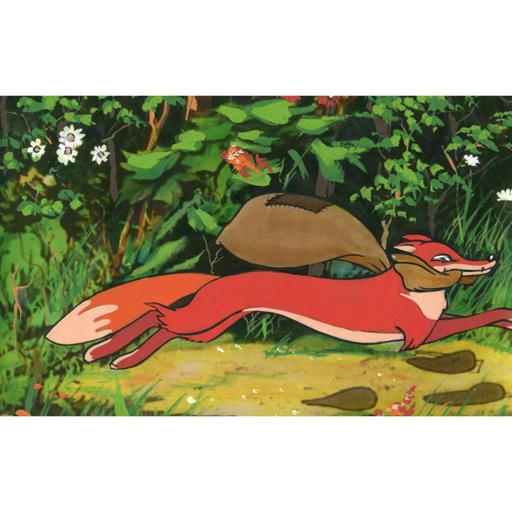 Diafilm - A pórul járt róka