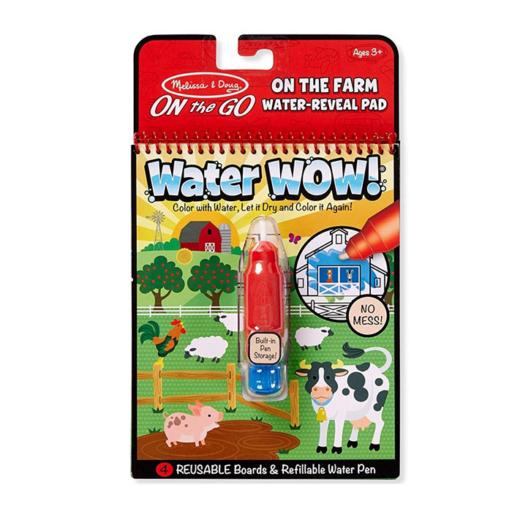 Melissa & Doug - Kreatív játék - Rajzolás vízzel - farm