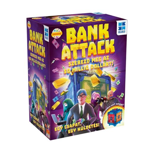 Bank Attack társasjáték