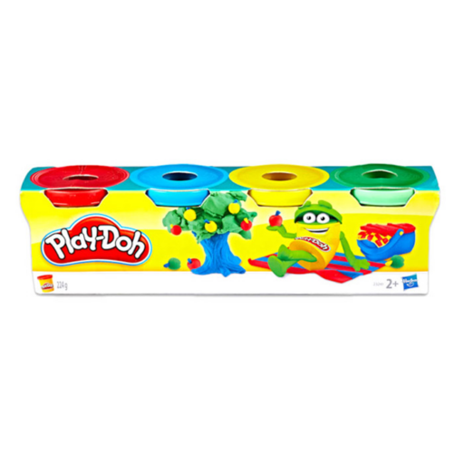 Play-Doh - 4 darabos mini gyurma készlet - vegyes színekben