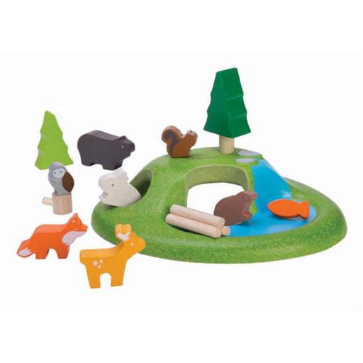 Plan Toys - Állatok szett
