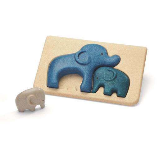Plan Toys - Elefánt kirakó