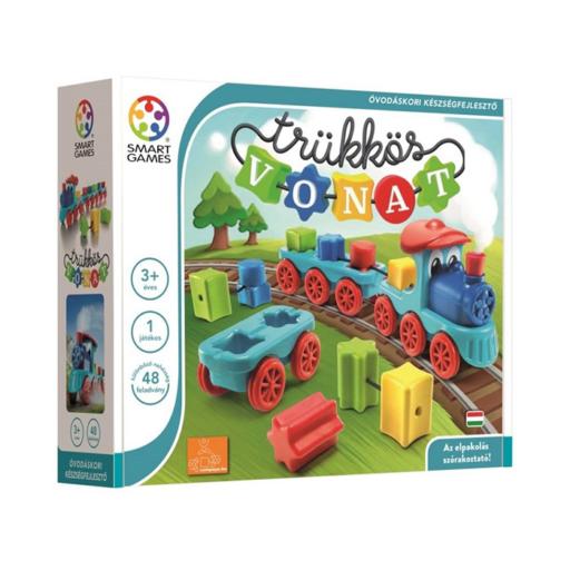 Smart Games - Trükkös vonat logikai játék