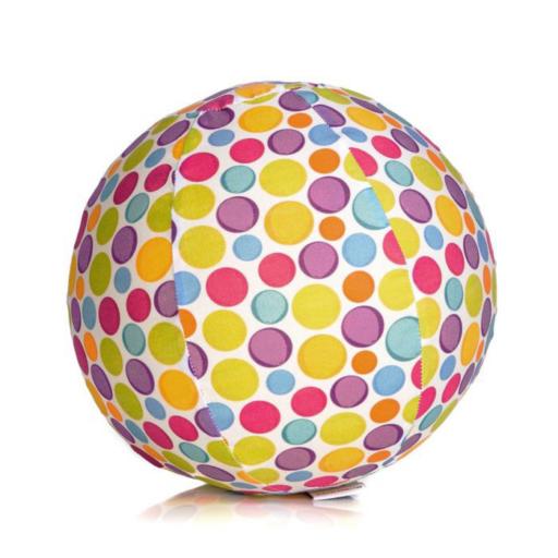 BubaBloon pamut léggömb borító – színes pöttyök