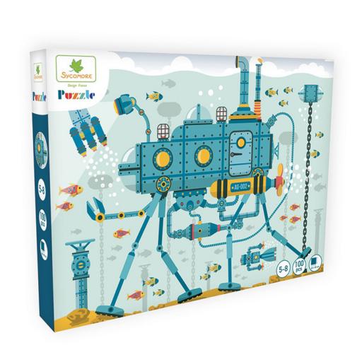 Puzzle - A víz alatti világ - 100 db-os