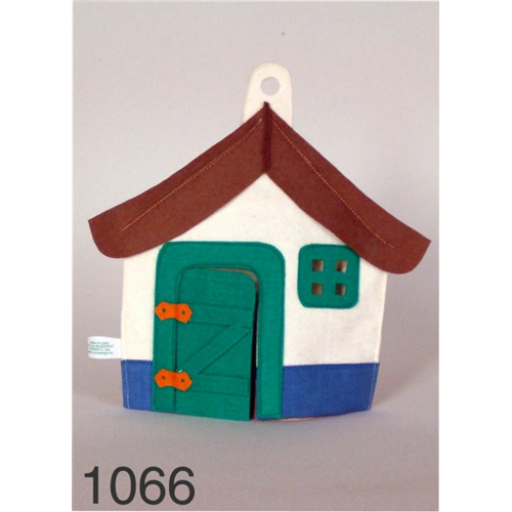 Kesztyűbáb - Házikó
