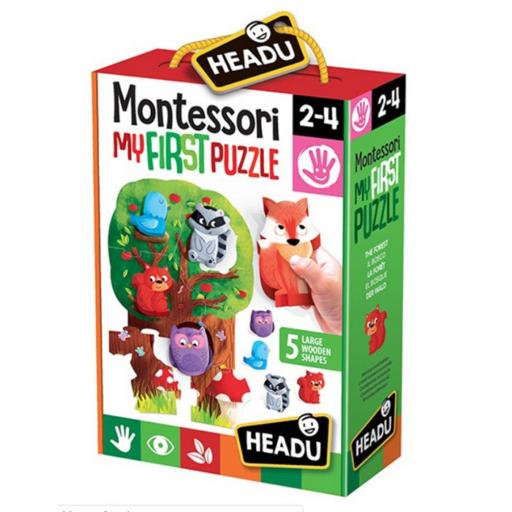 Montessori puzzle - Az erdő