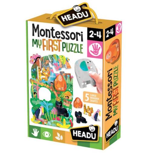 Montessori puzzle - Dzsungel