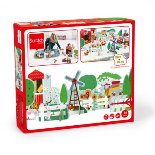 Padló puzzle - Farm készlet
