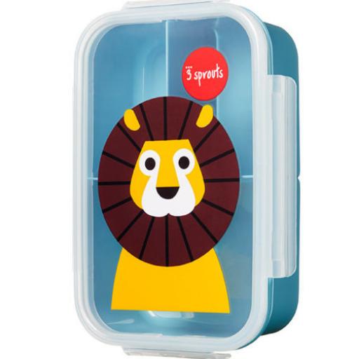 3 Sprouts uzsonnás doboz - oroszlán
