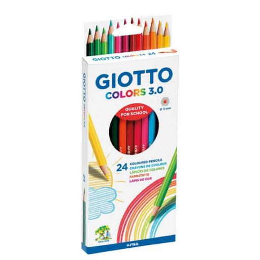 Giotto - Színes ceruza 24 db-os