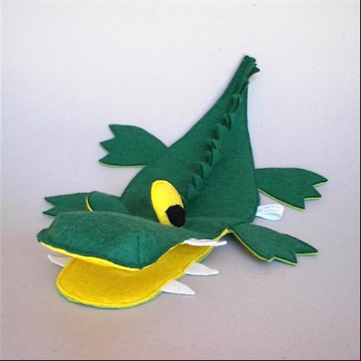 Kesztyűbáb - Krokodil