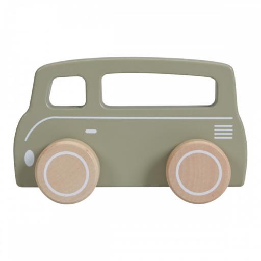 Little Dutch - fajáték autó - kisbusz
