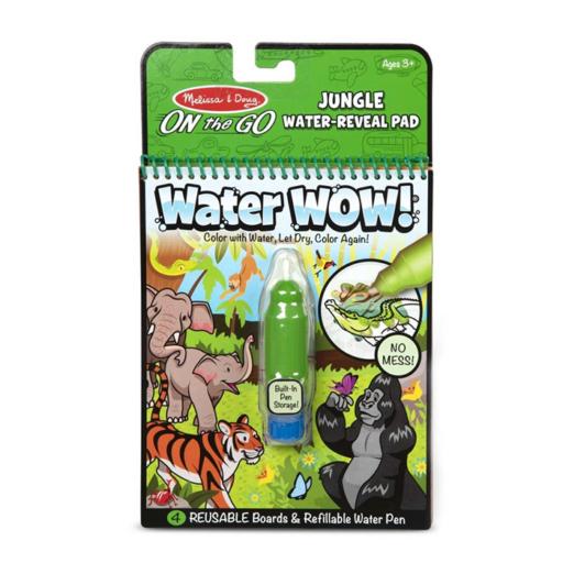 Melissa & Doug - Kreatív játék - Rajzolás vízzel, dzsungel