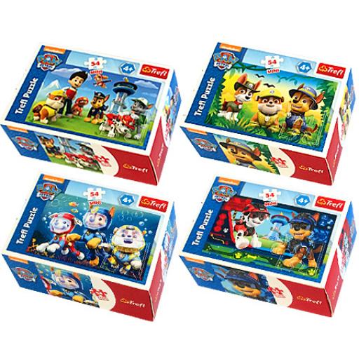 Mancs Őrjárat - Mini puzzle - 54 db-os