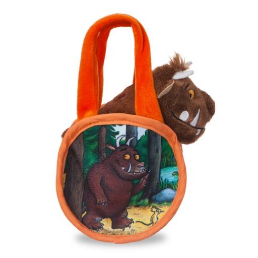 Graffaló plüss táskában - 18 cm
