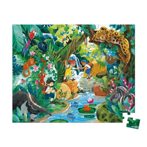Janod - Őserdő puzzle - 100 db-os