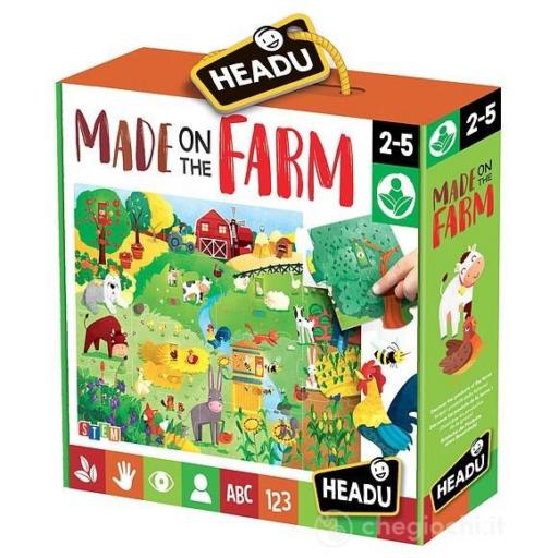 Fejlesztő puzzle - A tanyán