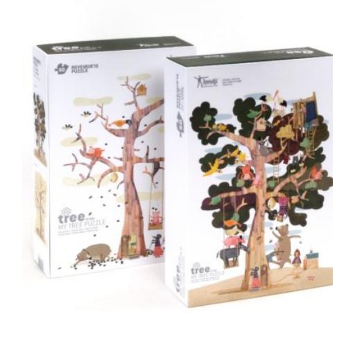 Londji - Az én fám! forma és kétoldalú puzzle - 50 db-os