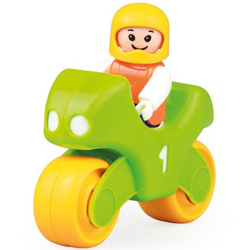 Lena - Első versenymotorom figurával