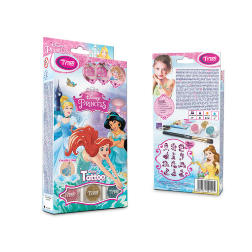Tytoo - Disney Hercegnők csillámtetoválás szett