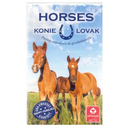 Kedvenceink a lovak 4 az 1-ben kártyajáték