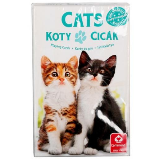 Kedvenceink a cicák 4 az 1-ben kártyajáték