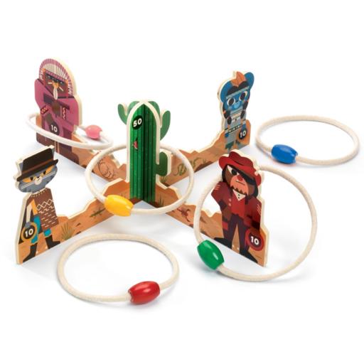 Djeco - Célba dobó játék - Karikázás