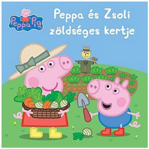 Peppa malac - Peppa és Zsoli zöldségeskertje mesefüzet