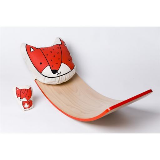 Varázspallómesék - róka párna és kis figura