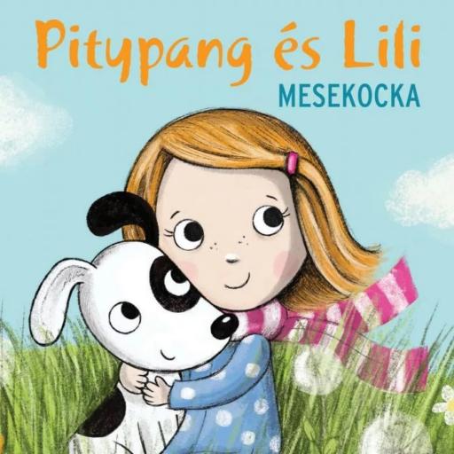 Pitypang és Lili fa mesekocka - 9 db-os