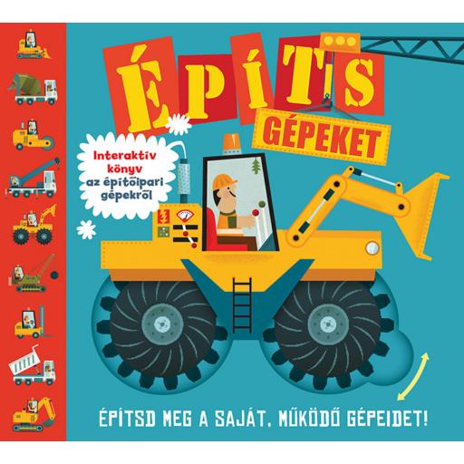 Építs gépeket! interaktív könyv