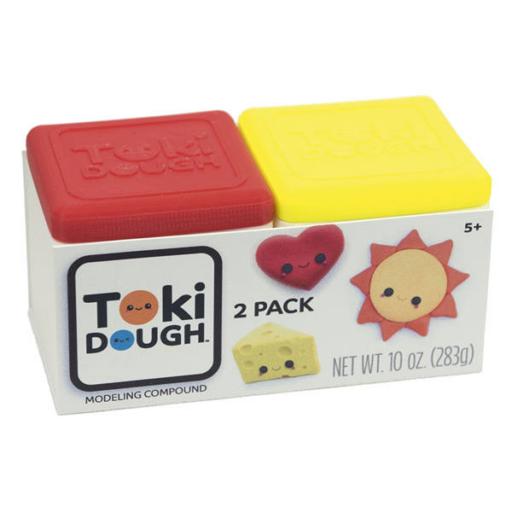 Toki Dough két színben (piros-sárga)