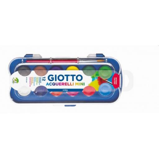 Giotto - Vízfesték - 12 kis gombos