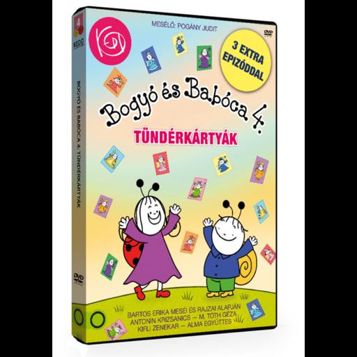 Bogyó és Babóca DVD 4. évad - Tündérkártyák