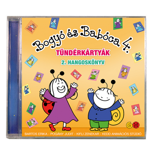 Bogyó és Babóca hangoskönyv - Tündérkártyák 2.
