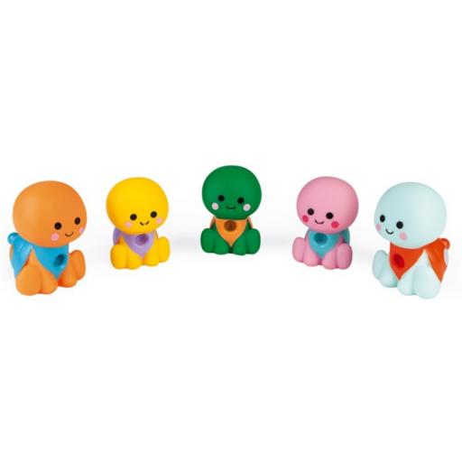 Janod - Fürdőjáték - 5 kisteknős