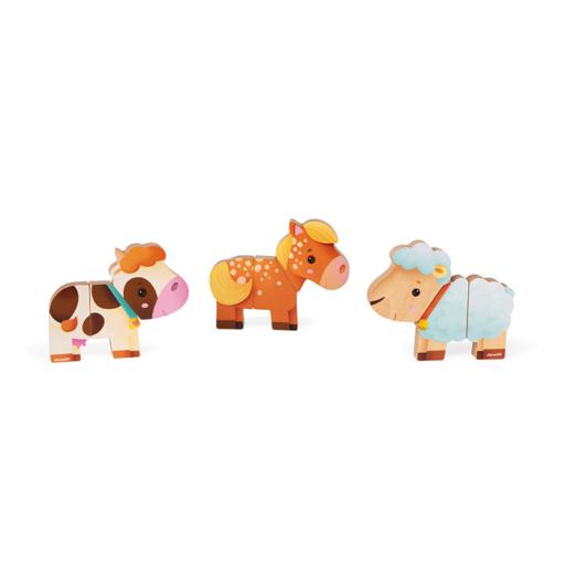 Janod - Mágneses farm állatok