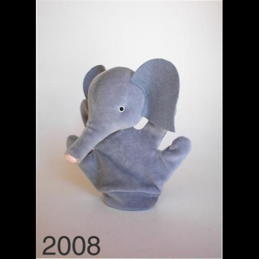 Kicsi kesztyűbáb - Elefánt