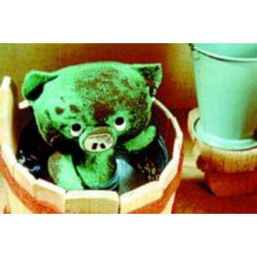 Diafilm - Mazsola fürdik