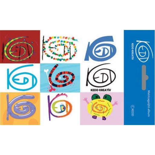 KEDDdesign logós - Matricagyűjtő album