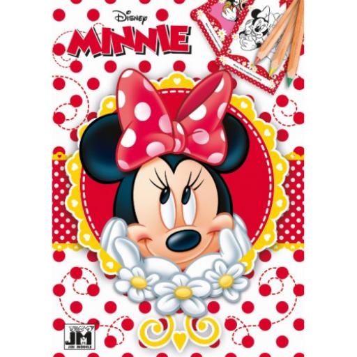Minnie egér - színezőfüzet - A5