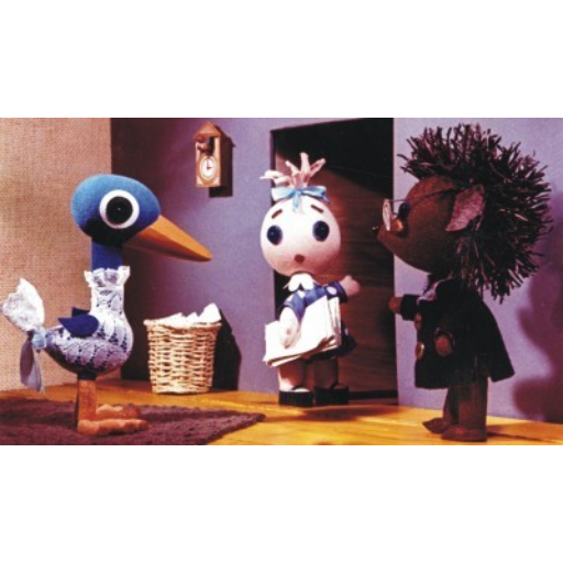 Diafilm - Böbe baba a papírkosárban