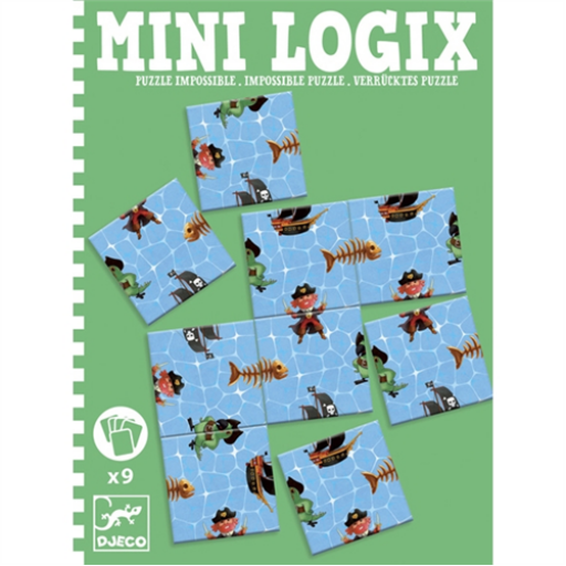 Djeco - Mini logika - Lehetetlen - Impossible pirats puzzle