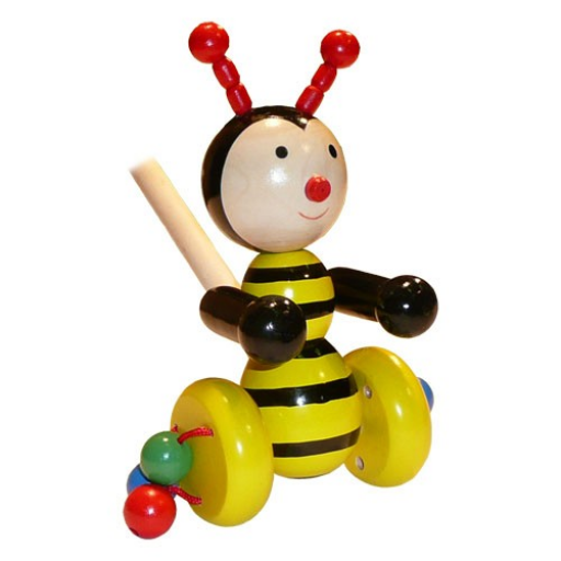 Fajáték - Tologatós méhecske