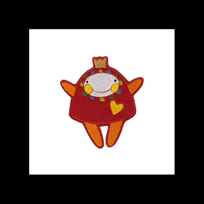 Hűtőmágnes - Manka (piros)
