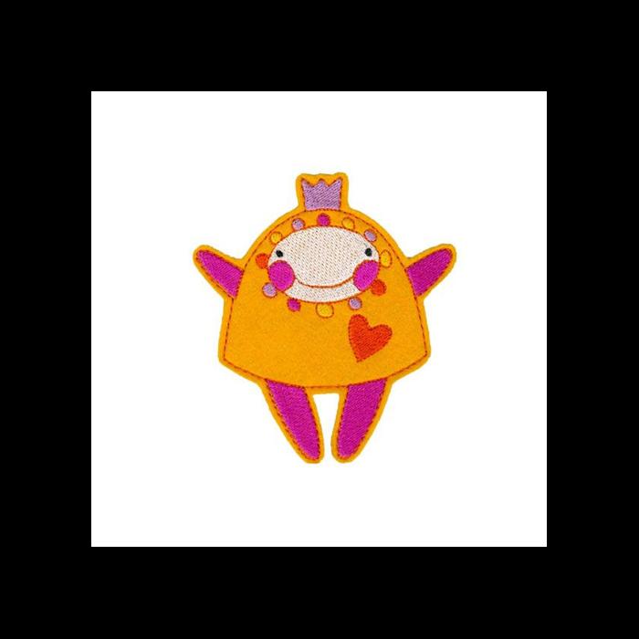 Hűtőmágnes - Manka (citromsárga)