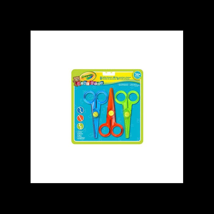 Crayola - Ollószett kicsiknek 3 db-os